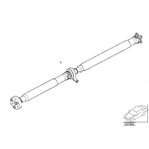 Propshaft BMW E46, 26111229557